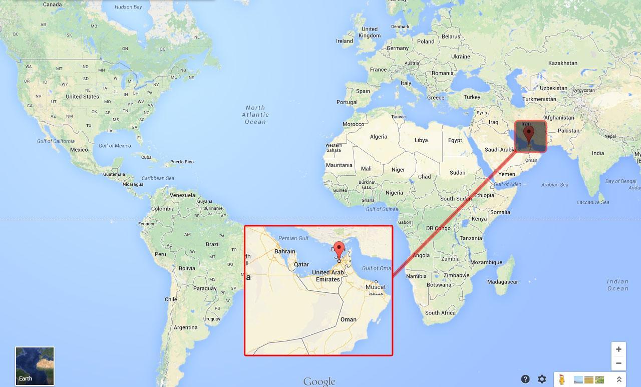 dubai no mapa Dubai num mapa de Dubai no mapa (Emiratos Árabes Unidos) dubai no mapa